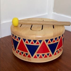 Plan Toys Wooden Drum